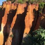 Felsen vopn Roussillon
